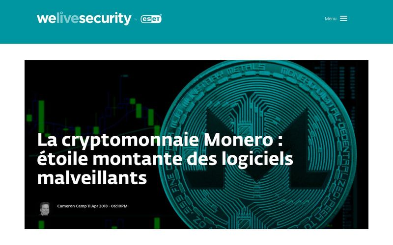 Welieve Security : Monero rétrécit son écart de popularité avec Bitcoin